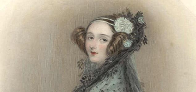 Retrato de Ada Lovelace, primera programadora de la historia de las computadoras. Autor: William Henry Mote, 1838.