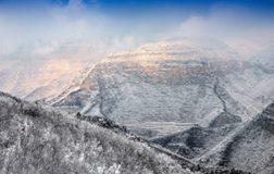 'Qingtian River geological park, Henan Province 青天河地质公园[Photo: Xinhua]'