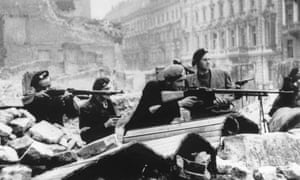 The Warsaw uprising, 1944.