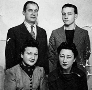 The Aronson family in Lwów, 1940 or 1941